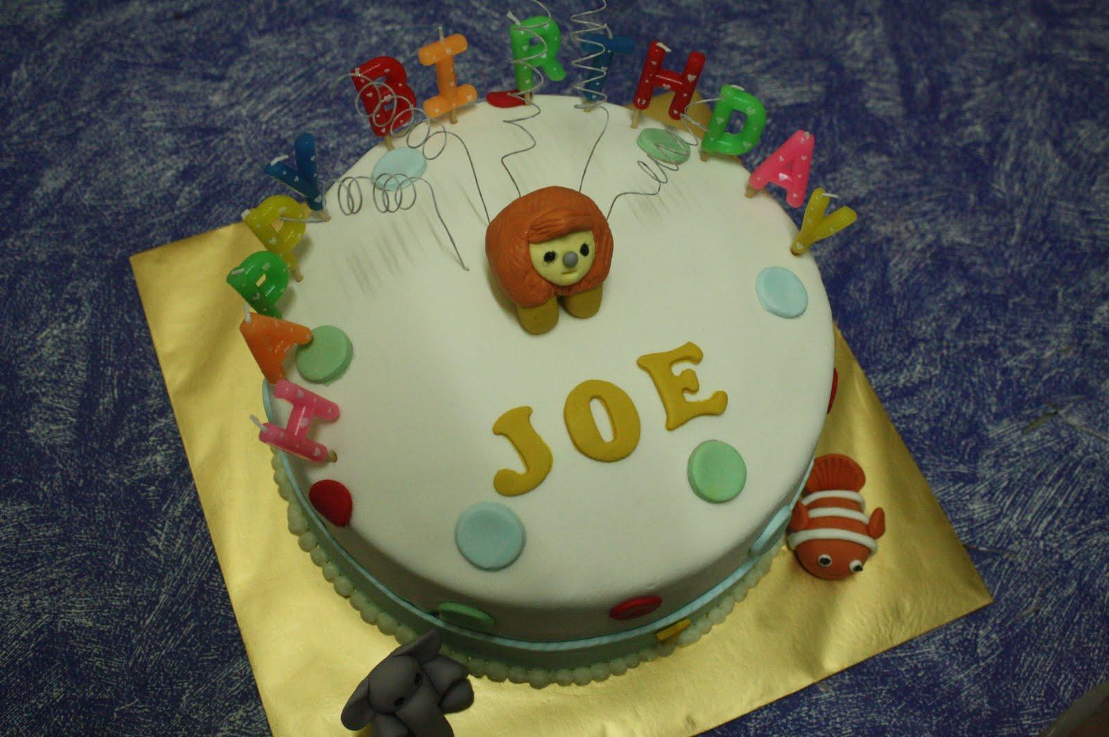Lissa n Rayyan ~ My Little Cupcakes * MA0150807-H: Happy Birthday JOE
