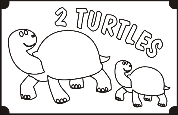 printable-two-turtles-coloring-pages