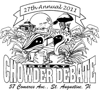 Chowder, Art, Evil Haunts and More this Weekend 3  cdlogo27 St. Francis Inn St. Augustine Bed and Breakfast