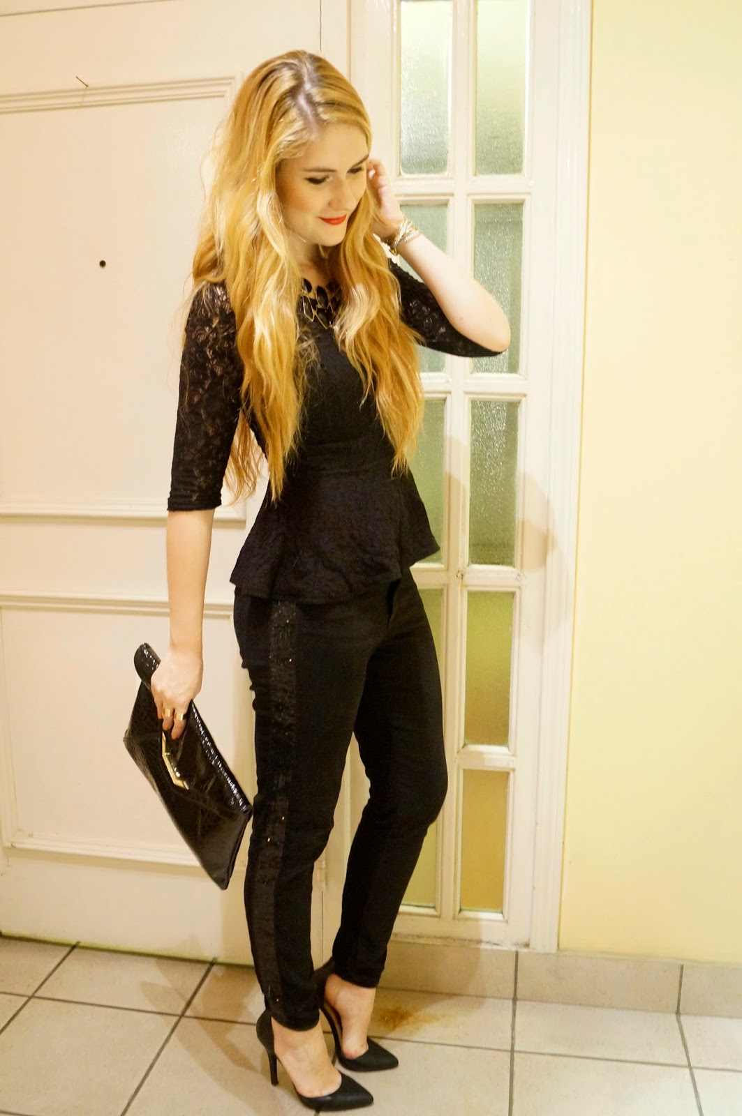 All Black Outfit, Fashion Blog