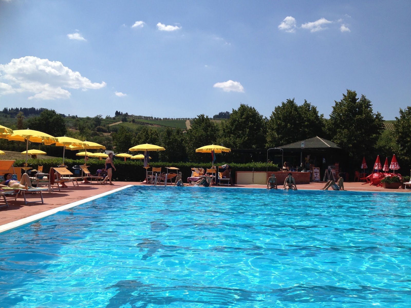 piscina greve in chianti