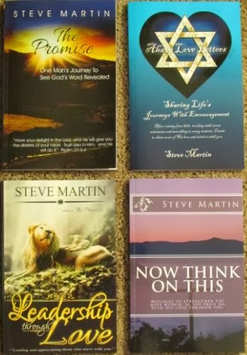 Steve Martin - published books