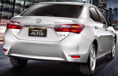 Toyota Corolla 2015  Preços e Características das Versões Carro