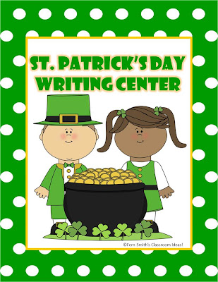 Fern Smith's FREE St. Patrick's Day Writing Center For Your Classroom!