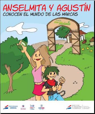 Imagen de un Cómic - Anselmita y Agustín conocen el mundo de las Marcas
