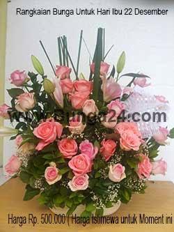 Rangkaian Bunga Untuk Hari Ibu