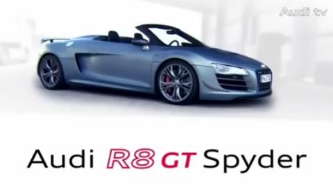 VIDEO Audi R GT Spyder Commercial Carsfresh - Audi r8 commercial