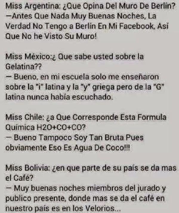 Y si fuera Miss Perú