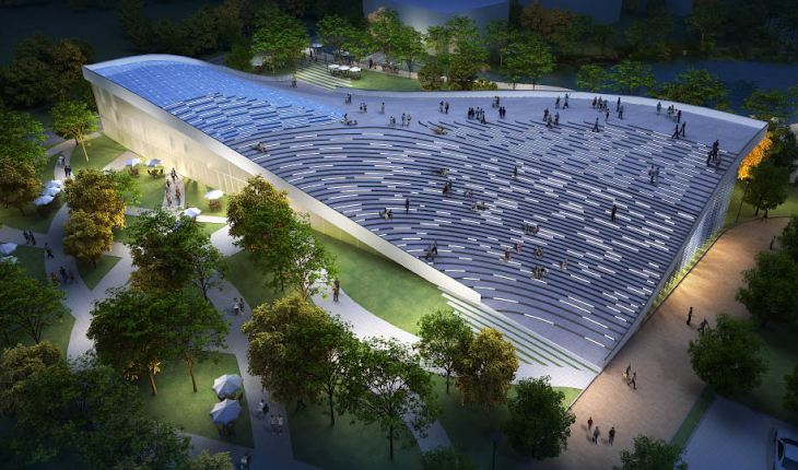 Beijing Welcome Centre by JDS Architects
