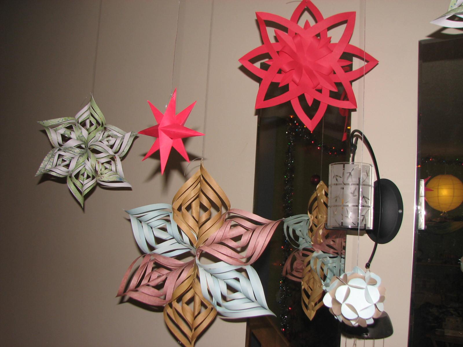 #B9122B Les Projets Créatifs De Fleur De Paix: Vive Les  5413 décorations de noel en papier 1600x1200 px @ aertt.com