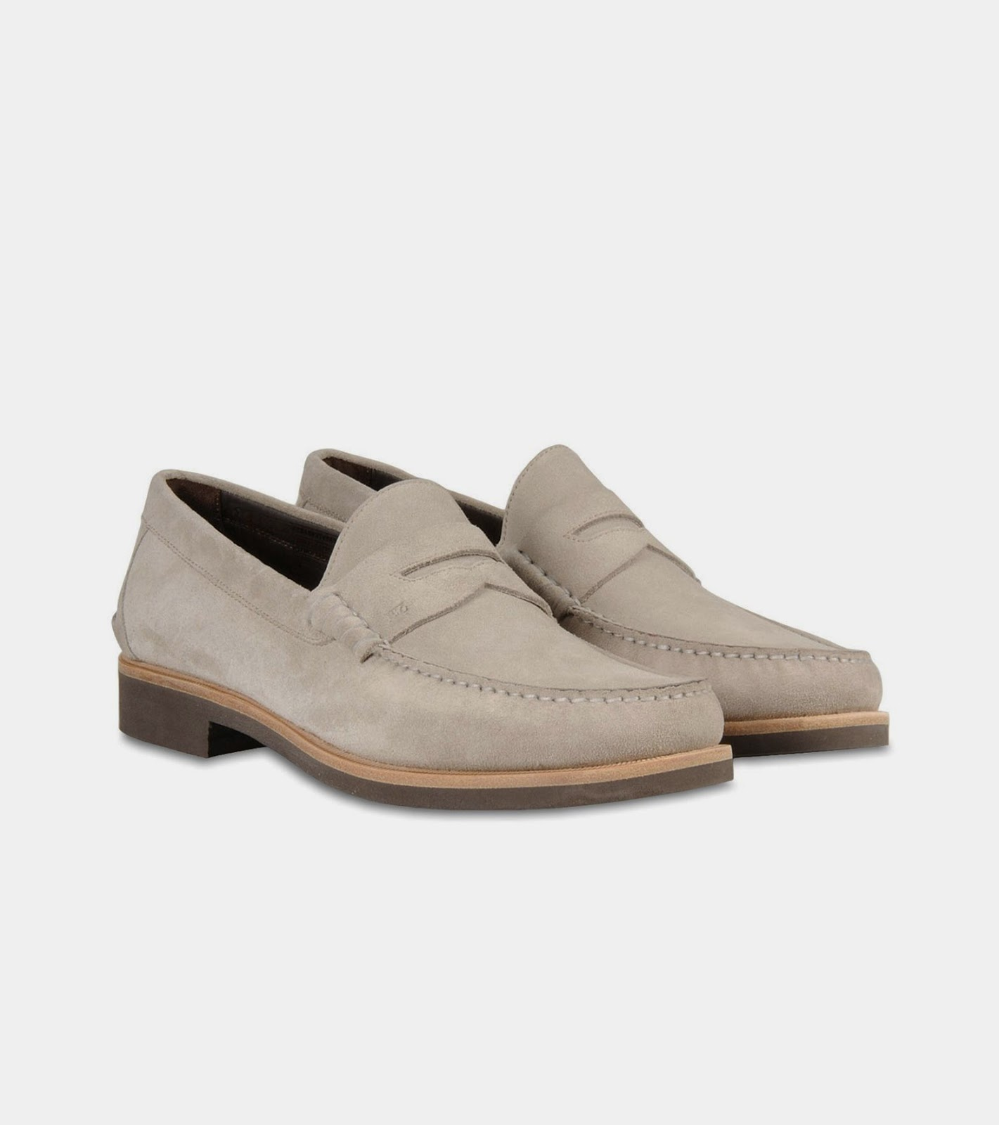 fortable white loafers crafted from beautiful suede on a leather welted and rubber sole 100 % leather