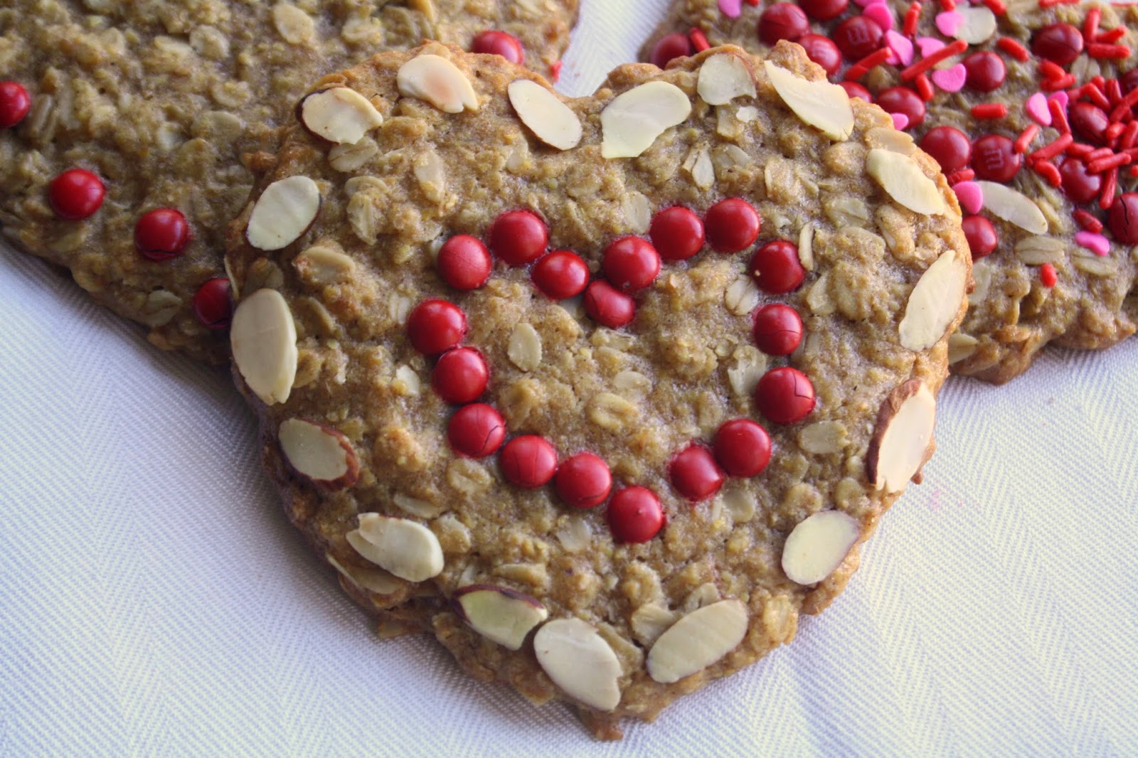 heart shaped granola bars healthy valentines treats - Healthy Valentines Treats