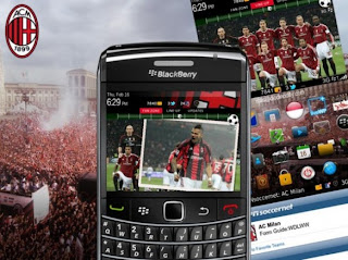 AC Milan Theme for BlackBerry