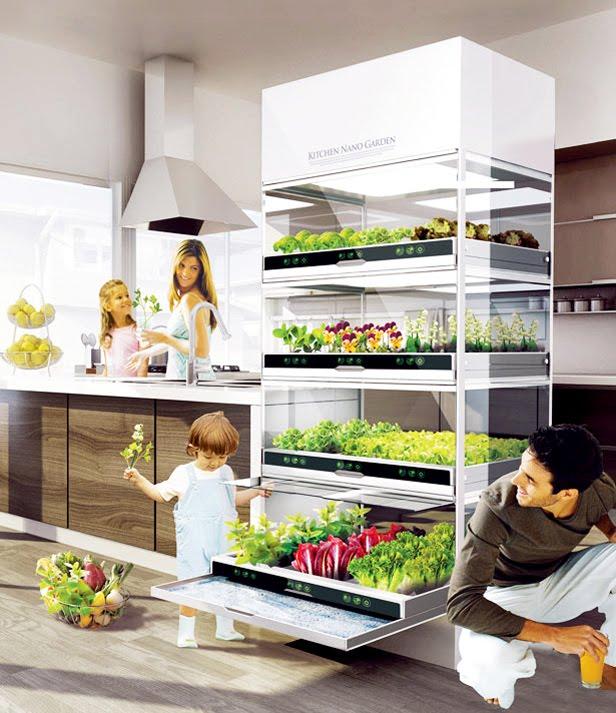 Futurix: Kitchen Nano Garden, L'orto Pensile In Cucina