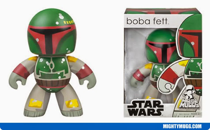 Boba Fett Star Wars Mighty Muggs Wave 1