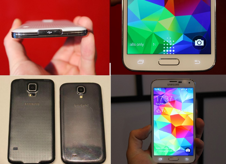 Inilah Wujud Dan Spesifikasi Samsung Galaxy S5