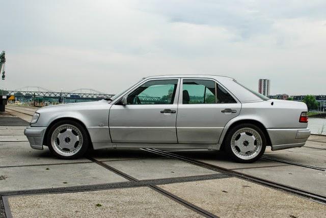 mercedes w124 tuning body kit: