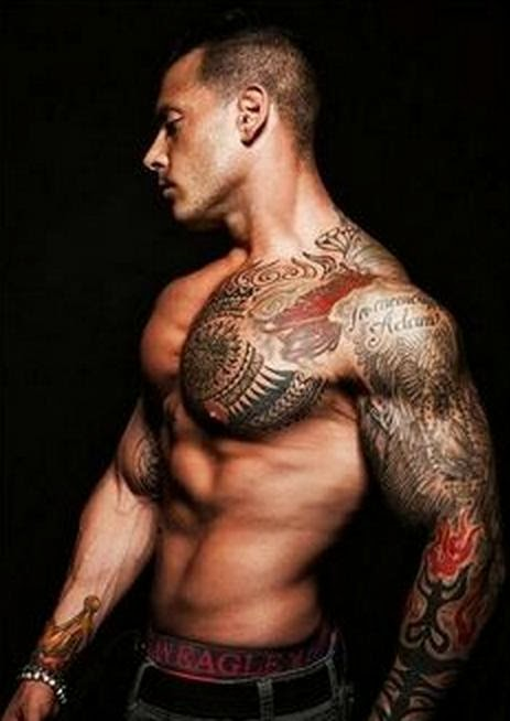 Tattoos That Look Hot On Guys