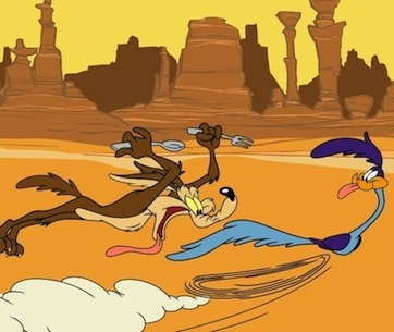 Dibujos animados Coyote+y+correcaminos+roadrunner+wile+e+coyote+cancion+musica