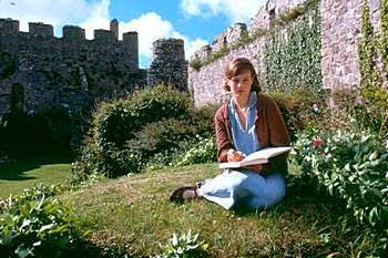 http://austenprose.com/2009/08/14/jane-austen-allusions-in-i-capture-the-castle-by-dodie-smith/
