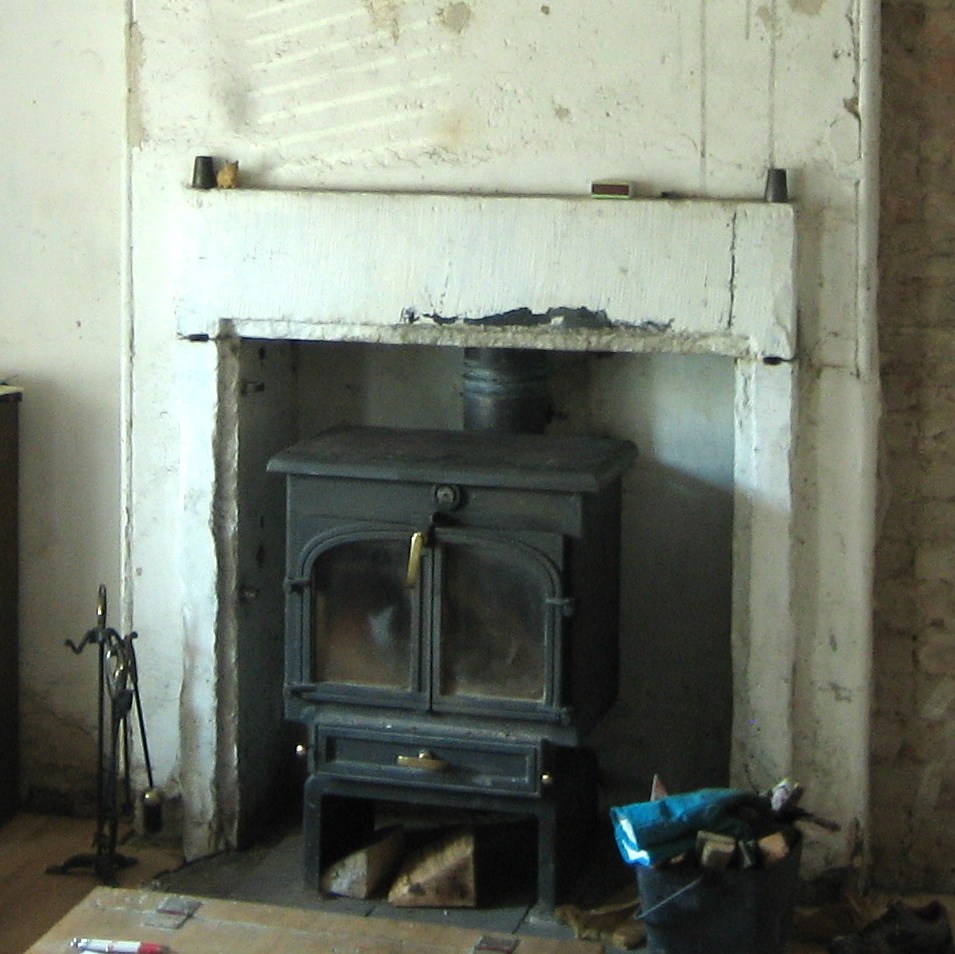 Our Handmade Home Rebuilding Stone Work On Our Fireplace