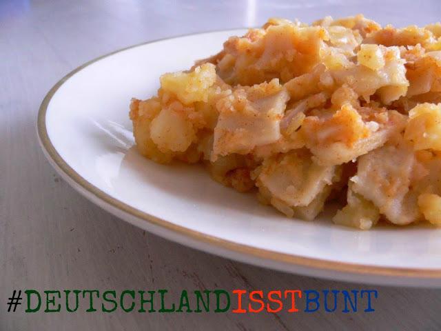 Deutschland isst bunt Blogger-Event Bloggeraktion Grenadiermarsch Rezept Flucht Flüchting Toleranz