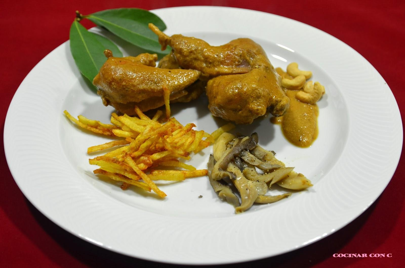 Cocinar con c perdices en salsa de anacardos - Como cocinar perdices ...