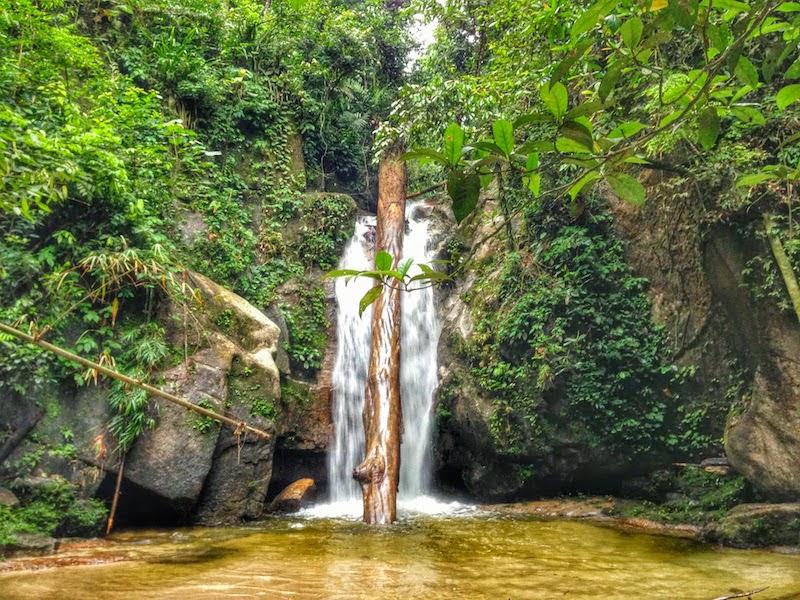 malaysia gunung korbu waterfall