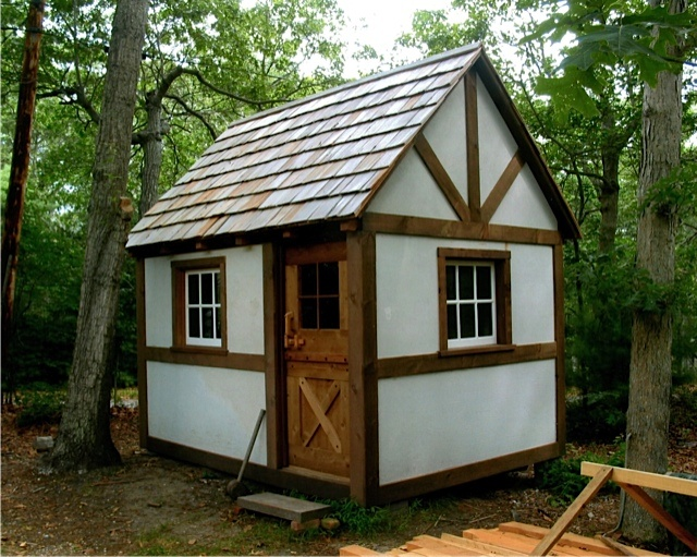 A New Timber Framed Cottage Cabin Tiny