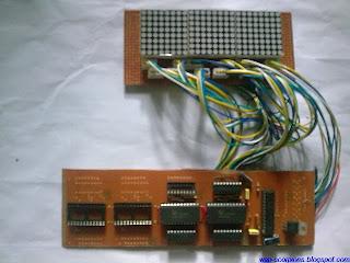 Matrix Display pcb