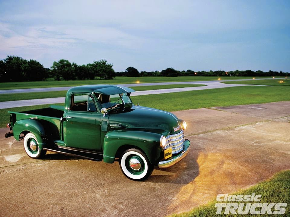 autoliterate: 1952 Chevrolet truck from Classic trucks
