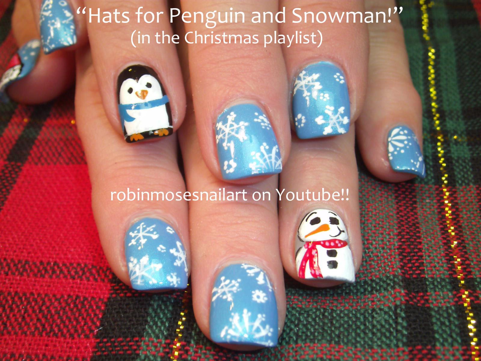 Robin moses nail art nail art christmas nail art sexy santa christmas nail art peppermint candy prinsesfo Image collections