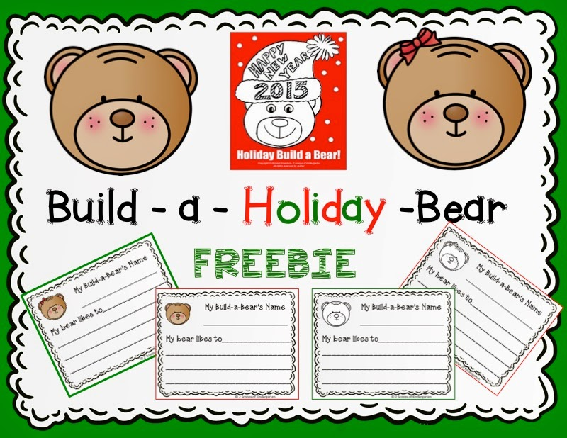 http://www.teacherspayteachers.com/Product/Build-a-Holiday-Bear-Writing-FREEBIE-1596835