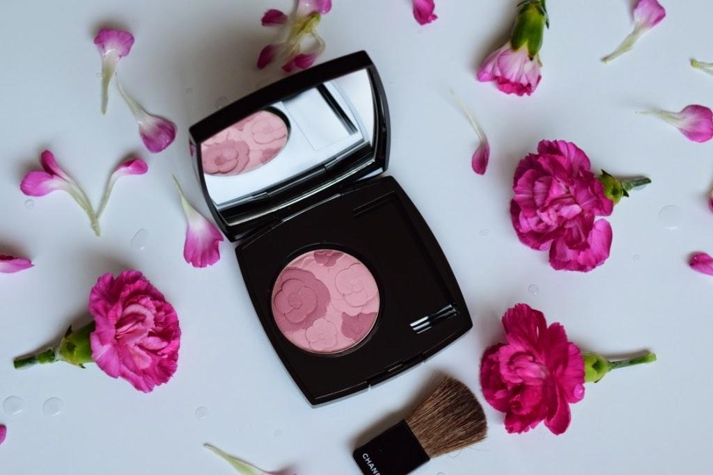 blush fleurs rose chanel printemps 2015