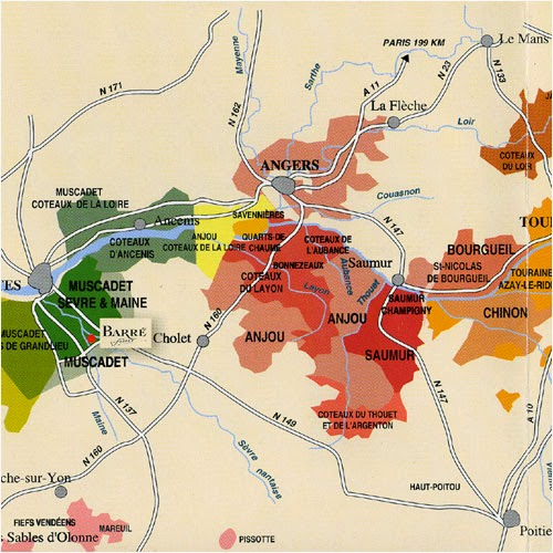 The World of Wine Review France Unit 6 The Loire Valley
