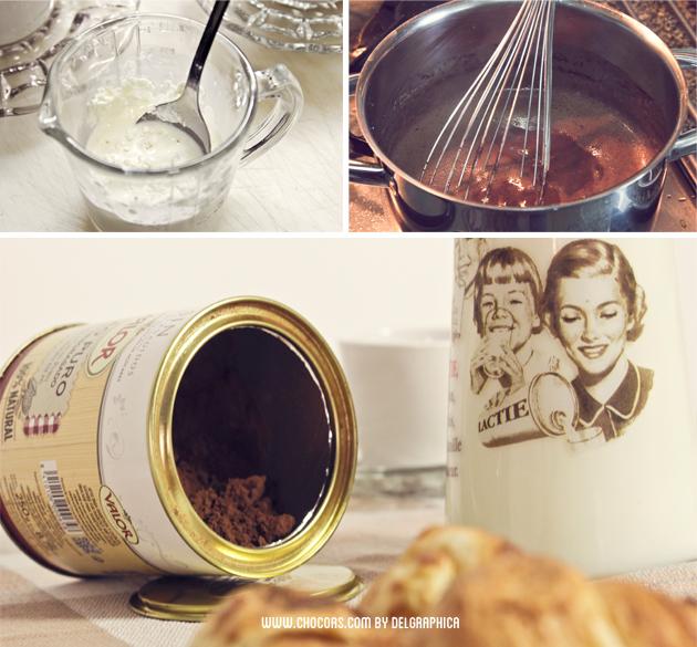 chocolate a la taza receta san valentín