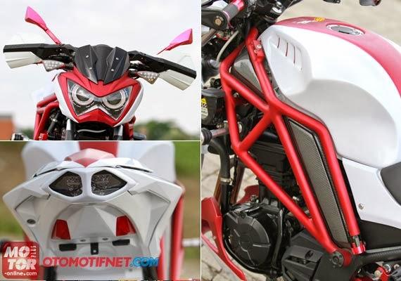 Modifikasi Kawasaki Z250 FI Semakin Menggoda Bodinya title=