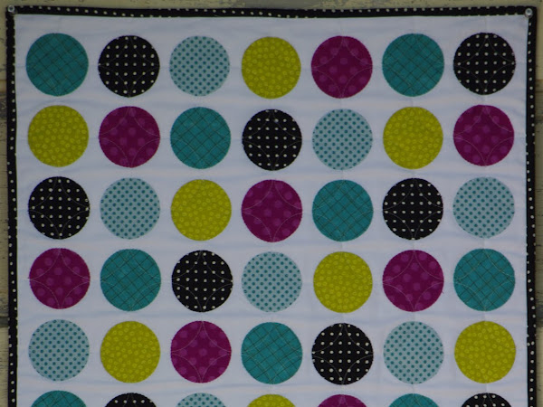 Small Wall Quilt #1 --Circles