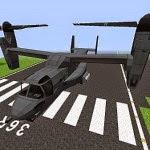 MCHeli MCHeli Mod 1.7.10/1.7.2 Minecraft Helicopter & Plane Mod