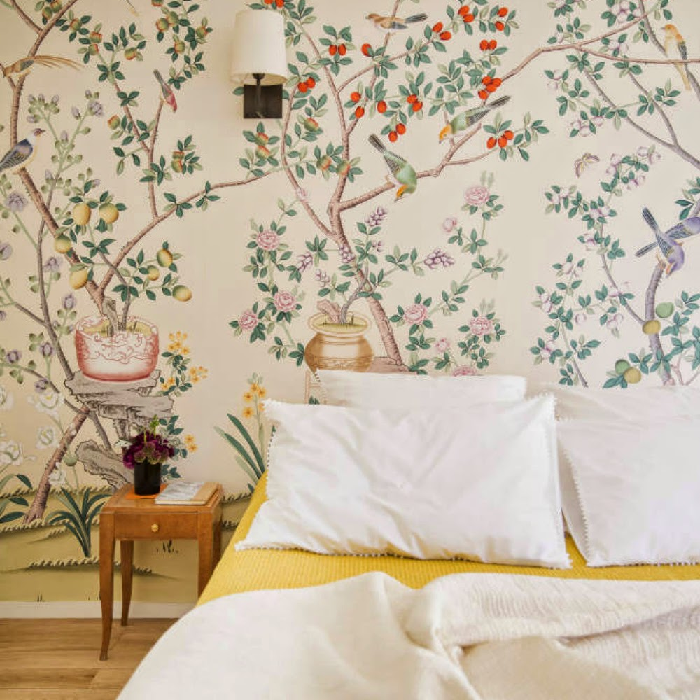 White Feminine Romantic Bedroom