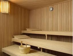 Construir sauna las paredes y la puerta 1 en decoracion - Como hacer una sauna ...