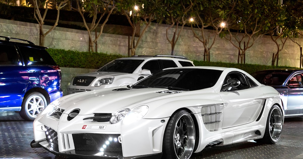 All Cars Nz Mercedes Benz Slr Mclaren By Fab Design In Dubai