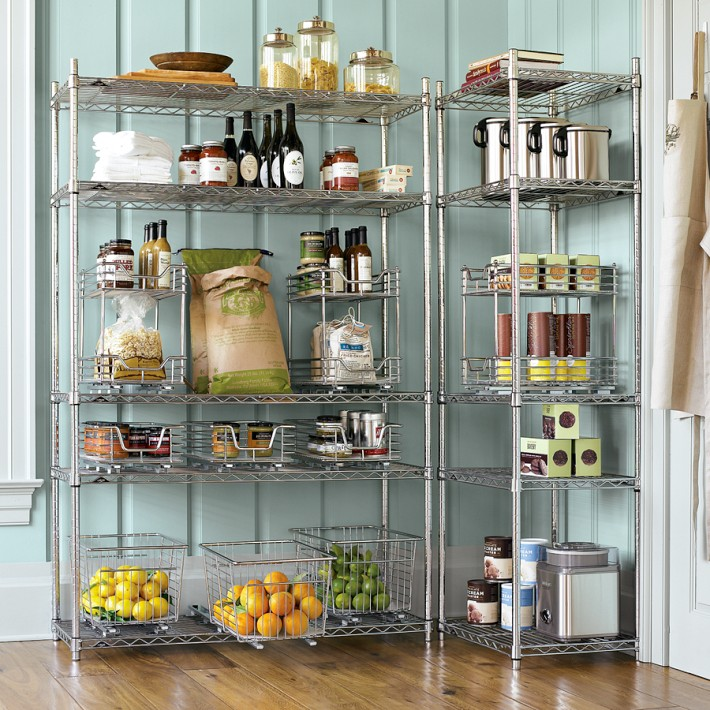 Good 5 Ways To Make Your Wire Shelving Stylish