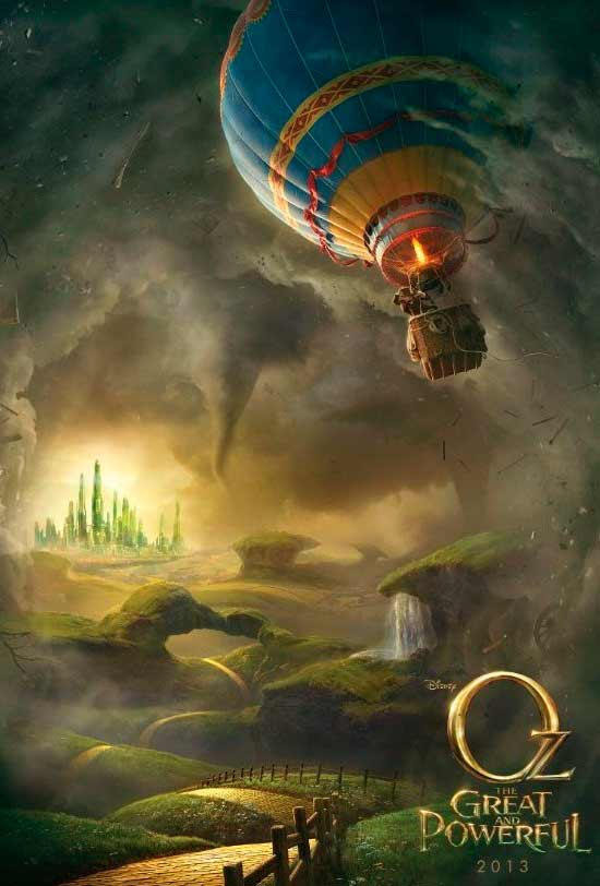 Oz: The Great and Powerful hd movie poster