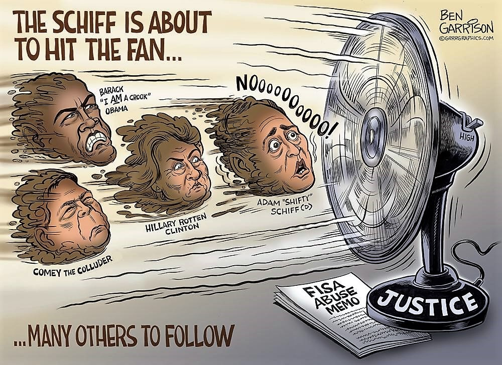 The Schiff Hits the Fan