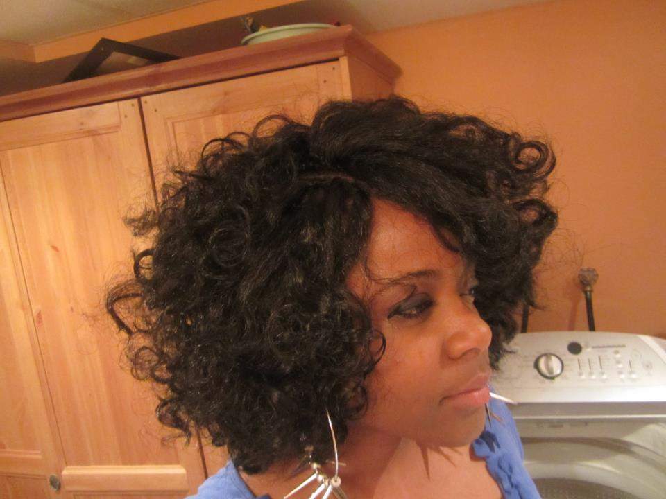 Crochet braids with kanekalon hair for Crochet braids salon