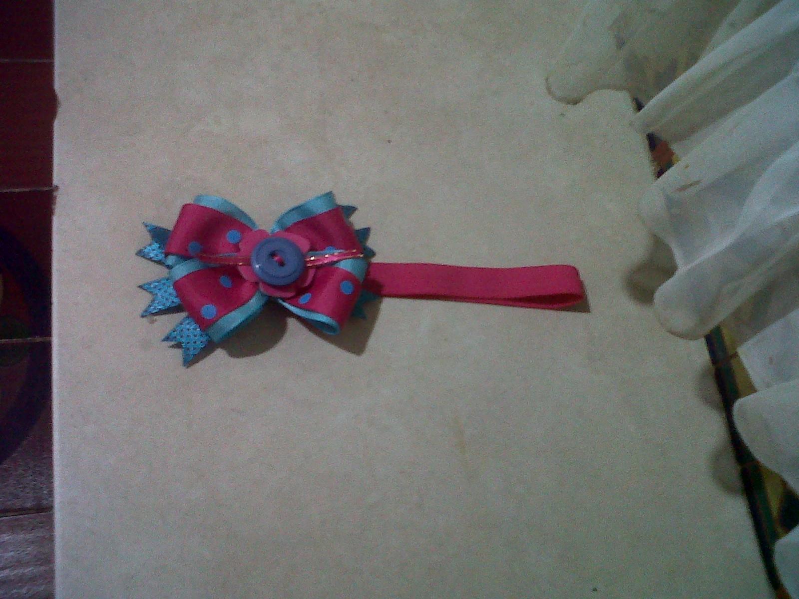 Coketerias..!!: Cintillos elasticos para bebes..!!