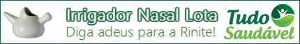 Irrigador Nasal Lota pelo menor preço você encontra na Tudo Saudável Produtos Naturais