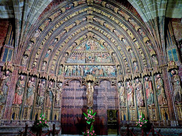 Pórtico de Santa María de los Reyes Laguardia