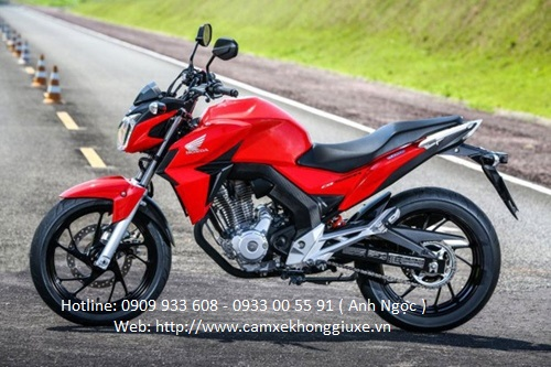 Honda CB Twister 250 - nakedbike cỡ nhỏ mới